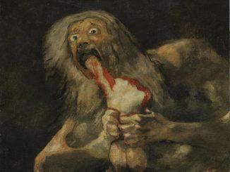"""Saturn Devouring His Son"", by Spanish artist Francisco Goya"