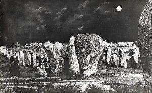 Stones of Carnac postcard